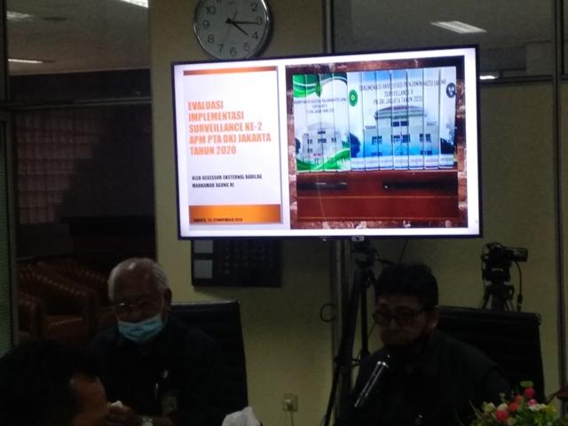 Tim Asessmen Eksternal Dirjen Badilag MA-RI melaksanakan Observasi Implementasi APM PTA DKI Jakarta | (25/11)